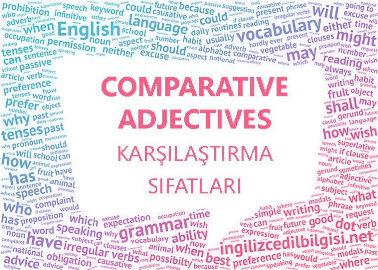 İngilizce Karşılaştırma Sıfatları – Comparative Adjectives