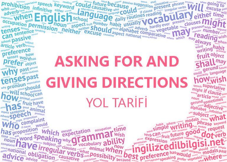 İngilizce Yol Tarifi – Asking For And Giving Directions