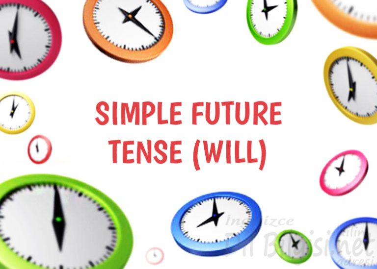 İngilizce Gelecek Zaman – Simple Future Tense (Will)